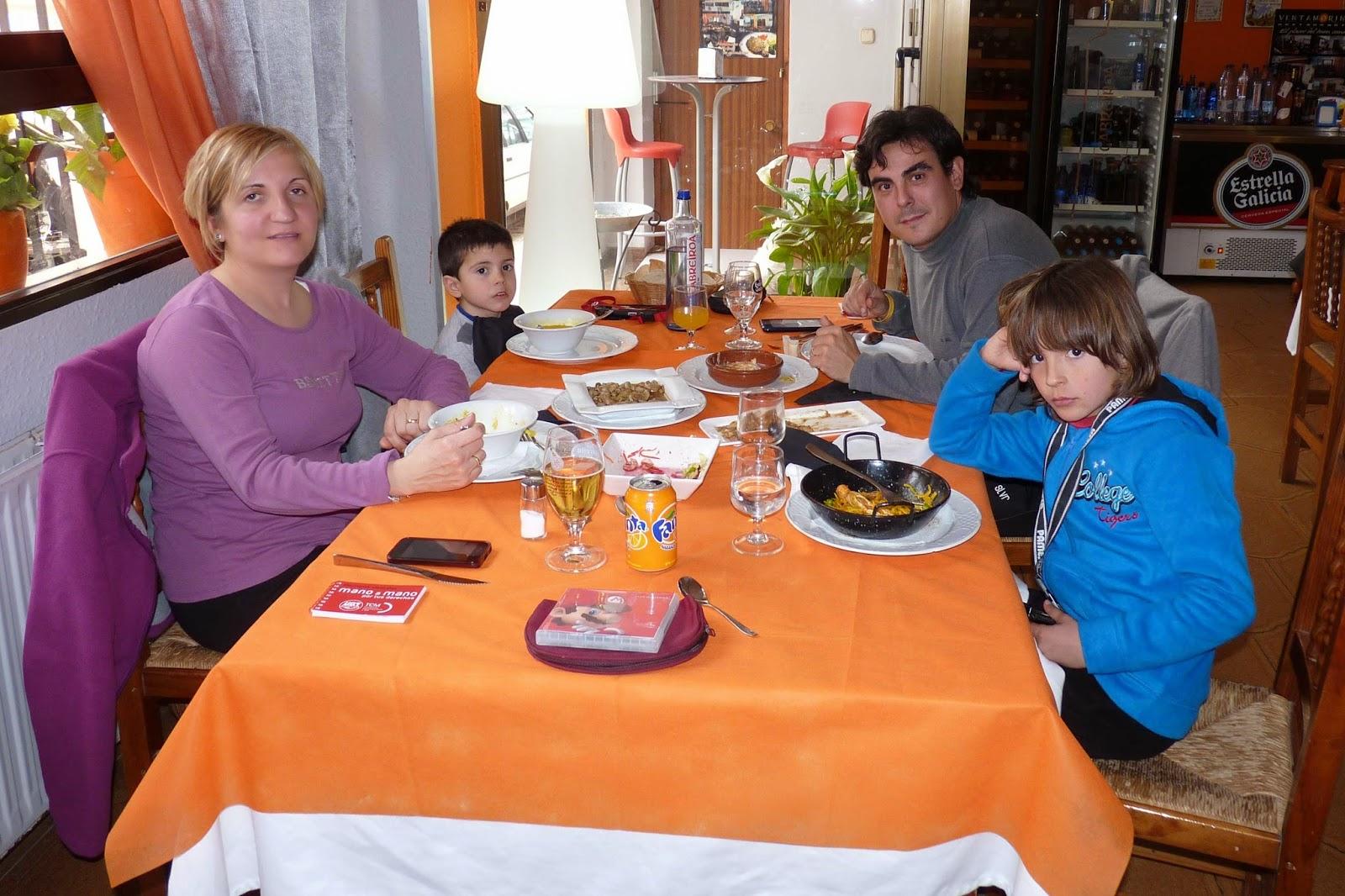 Restaurante El Yantar, Venta del Moro.