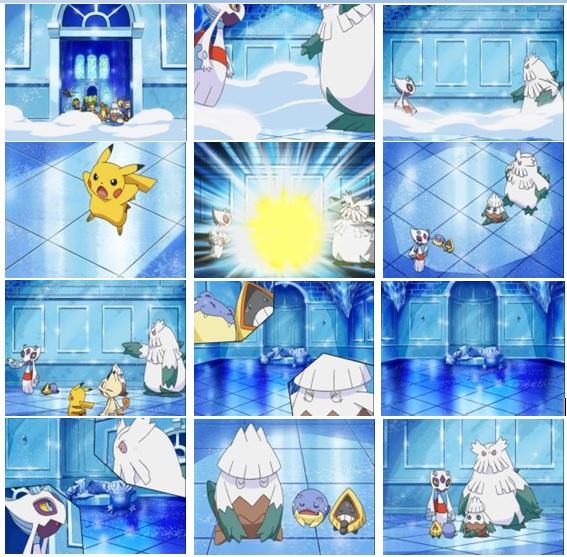 Pikachu's Great Ice Adventure