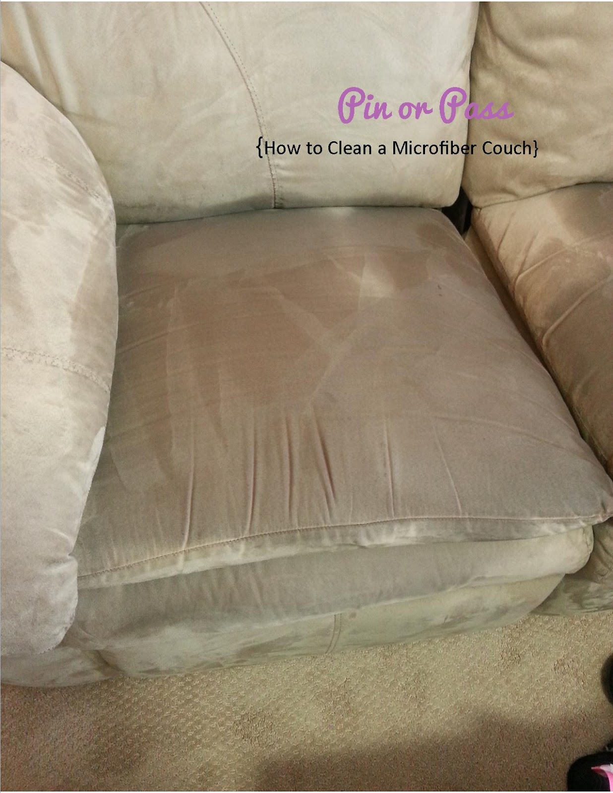 Pin Or Pass How To Clean A Microfiber Couch