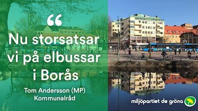 NU storsatsar vi på elbussar i Borås