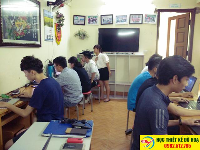 học coreldraw tại Vương Thừa Vũ