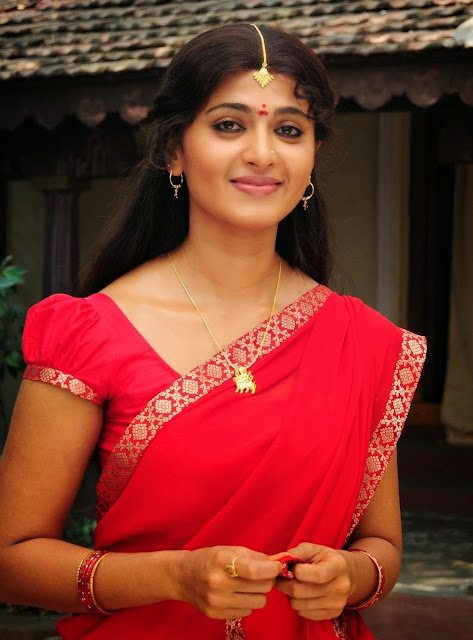 322a15b0a9ffa6d5f50fee7e646f5f3d Anushka Shetty in Red Saree ~  Exclusive.jpg.jpg