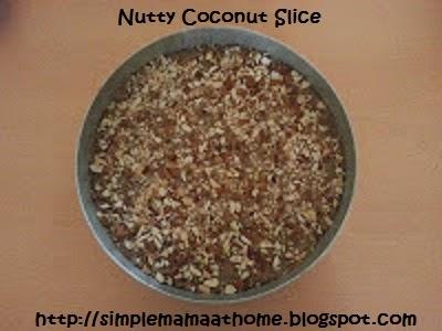 Nutty Coconut Slice