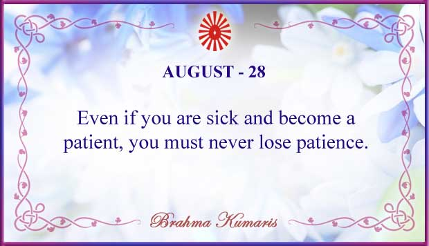 Thought For The Day August 28