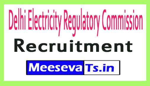 Delhi Electricity Regulatory Commission DERC Recruitment
