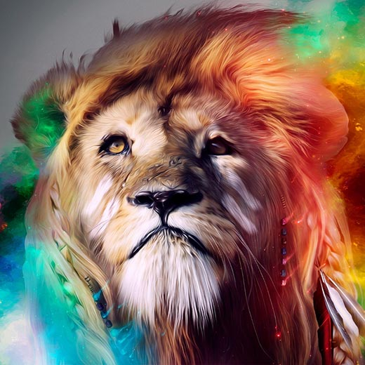 Lion's Head Wallpaper Engine