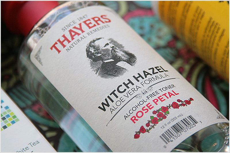 Thayers Witch Hazel Aloe Vera Formula Alcohol-Free Toner Rose Petal