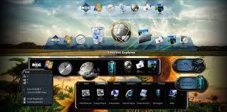 افضل برنامج في تغيير شكل الويندوز Winstep Nexus Ultimate 17.12.0.1069