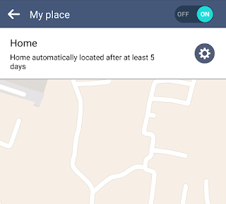 Scanning home location via GPS and mobile data on Android