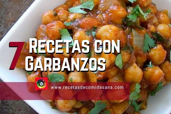 7 recetas con garbanzos propia de los países del Mediterráneo