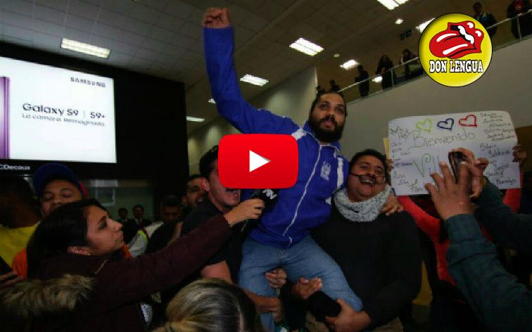 Vilca Fernandez recibido como un héroe en Perú