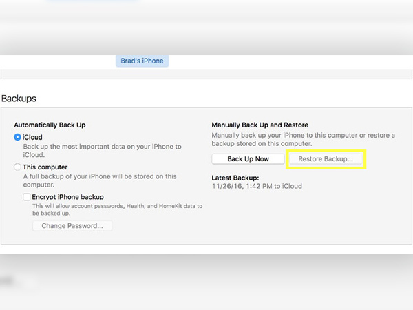 How to Recover Deleted iPhone Contacts