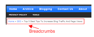 How to Add BreadCrumb on Blogger/BlogSpot in HTML price in nigeria