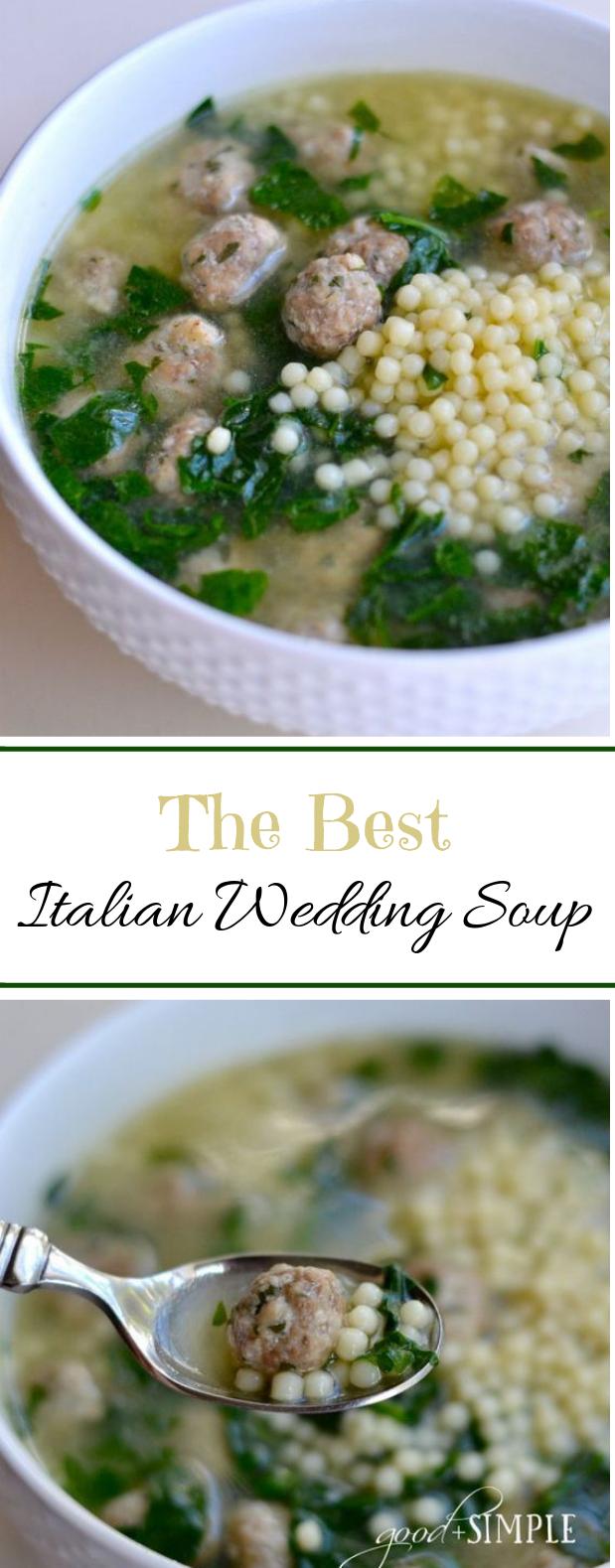 Best Italian Wedding Soup #winter #soup