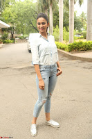 Rakul Preet Singh in Jeans and White Shirt At Jaya Janaki Nayaka le Logo Launch ~  Exclusive 035.JPG