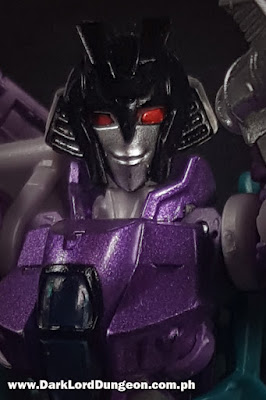 Takara Decepticon Slipstream Face