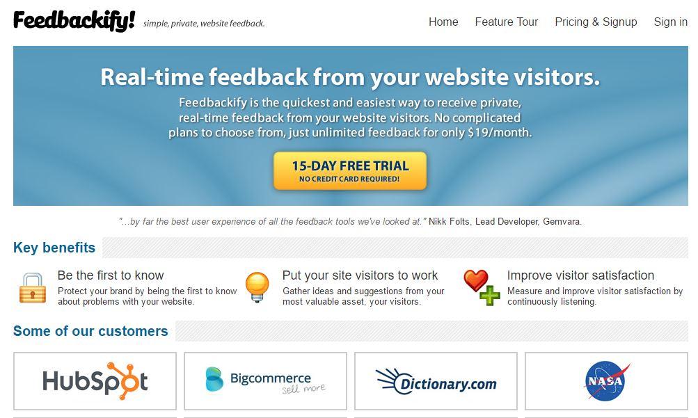 9 Best Customer Feedback Tool For Websites | Web Designing Blog