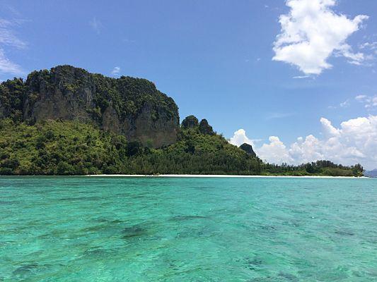 passeio barco quatro ilhas tailandia