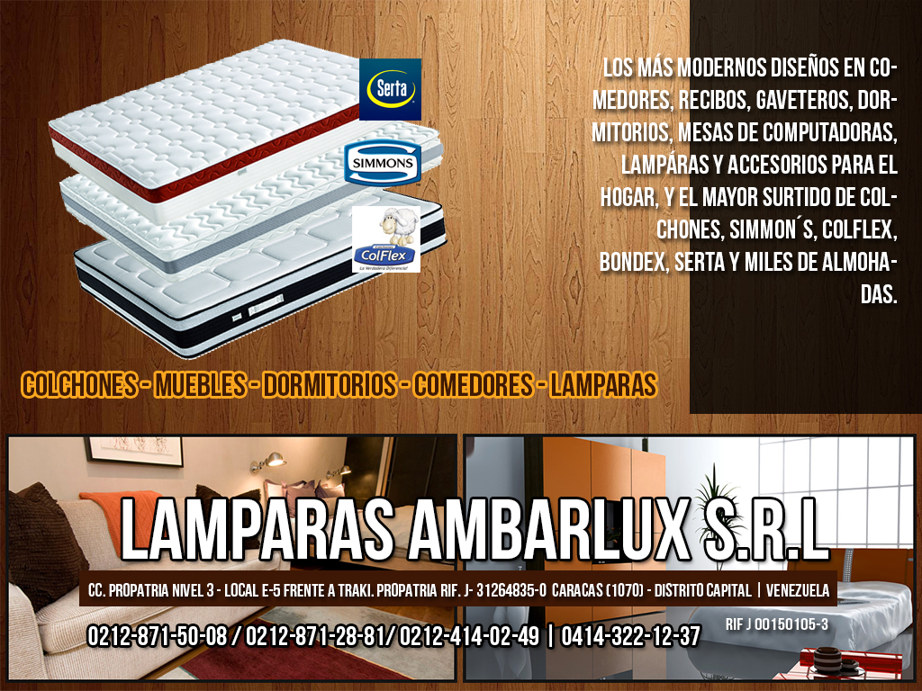 LAMPARAS AMBARLUX S.R.L en Paginas Amarillas tu guia Comercial