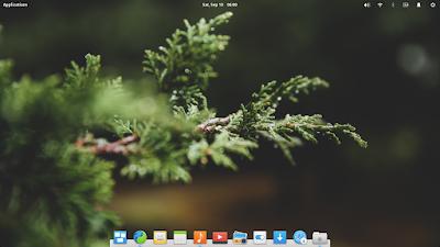 desktop Elementary OS Loki