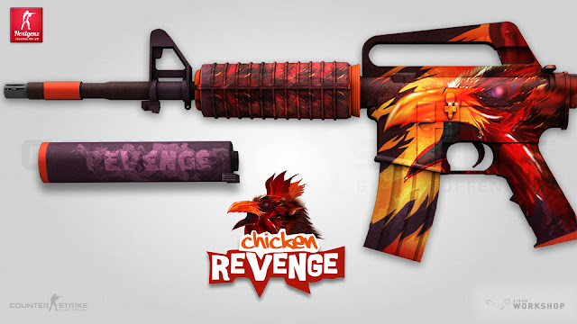 Workshop Warsztat Steam CS GO - M4A1-S | Chicken Revenge