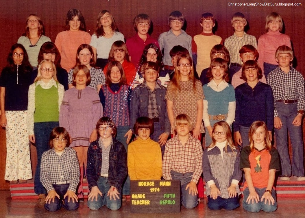 Class photo (6th grade) - 1974