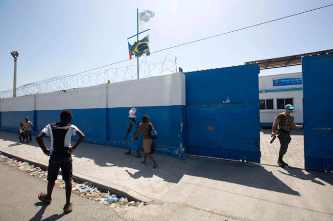 Cascos azules dejan víctimas sexuales en Haití
