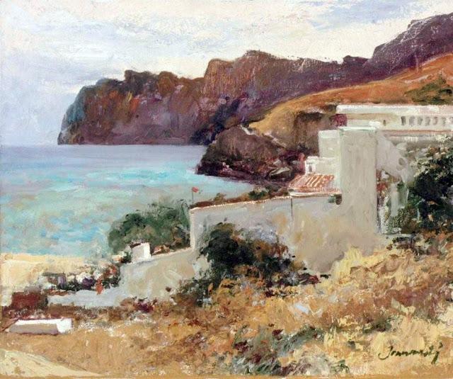 Joan Marti Aragonès, Mallorca en pintura