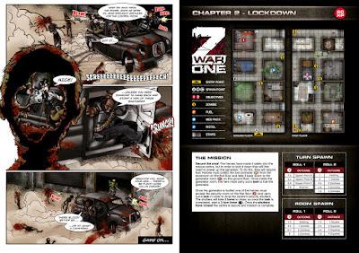 Z War One: il fumetto introduce la missione