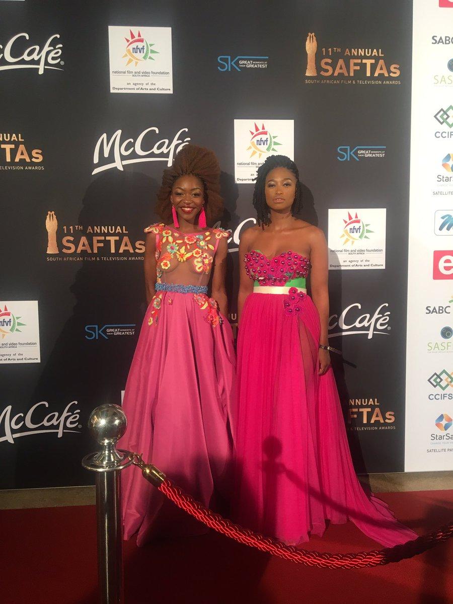 5 Mzansi Celebs Wore Dress Most Revealing Skin At The 2017 Saftas 11 -2276