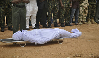 Photos: Slain Colonel Inusa Laid To Rest