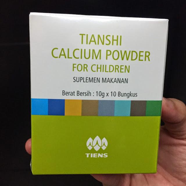 kalsium peninggi badan tiens untuk anak