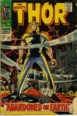 Thor #145, Stranded on Earth