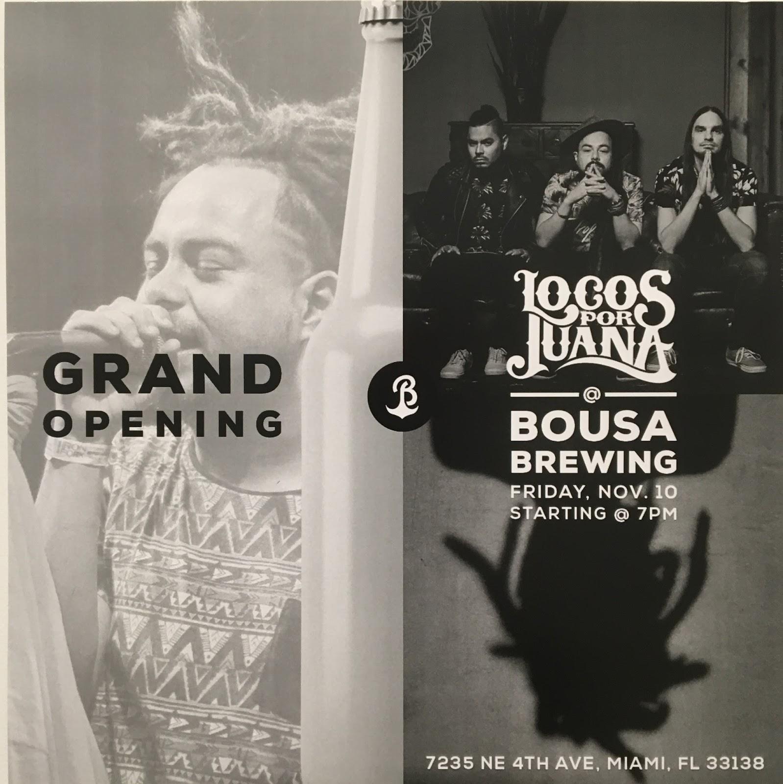 4983561da13 Bousa Brewing can be found at 7235 NE 4th Avenue