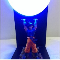 Lampe Dragon Ball Z faite à la main
