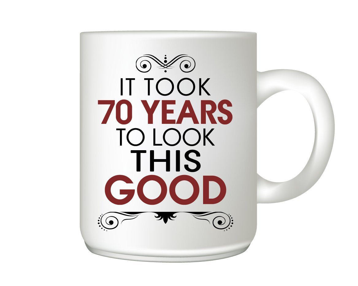 70th Birthday Mug Gift