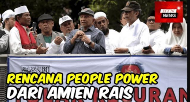 Amien Rais dan Mimpi People Power Ala Khilafah