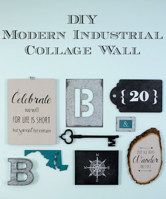 How to design an industrial art gallery wall