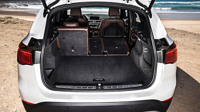 interni della nuova BMW X1