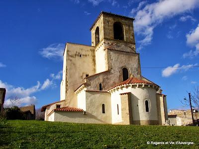 Moissat-Bas, l'église saint Pierre aux Liens