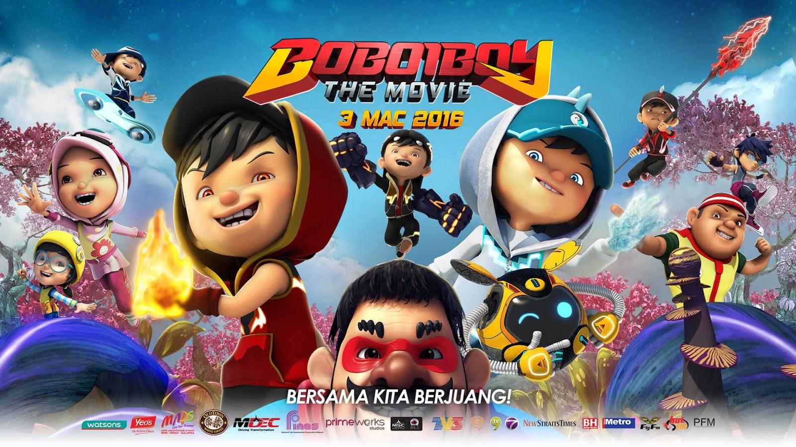 boboiboy the movie [2016] [animation] [asian cartoon] [dvdrip 720p