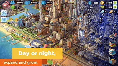 لعبة Simcity Buildit
