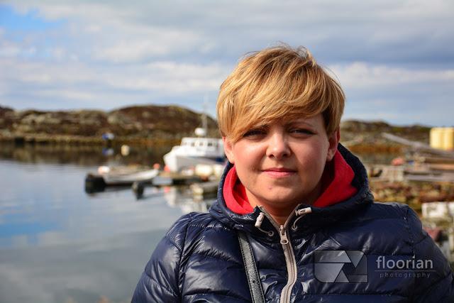 Visnes na wyspie Karmoy w Norwegii