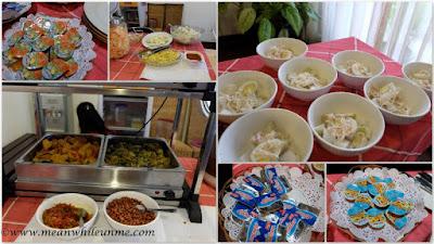 Hotel Review: variasi makanan di Hotel Amira, Bandung