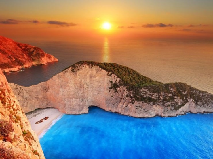 33 Amazing Beaches From Around The World - Navagio Beach, Zakynthos Island, Greece