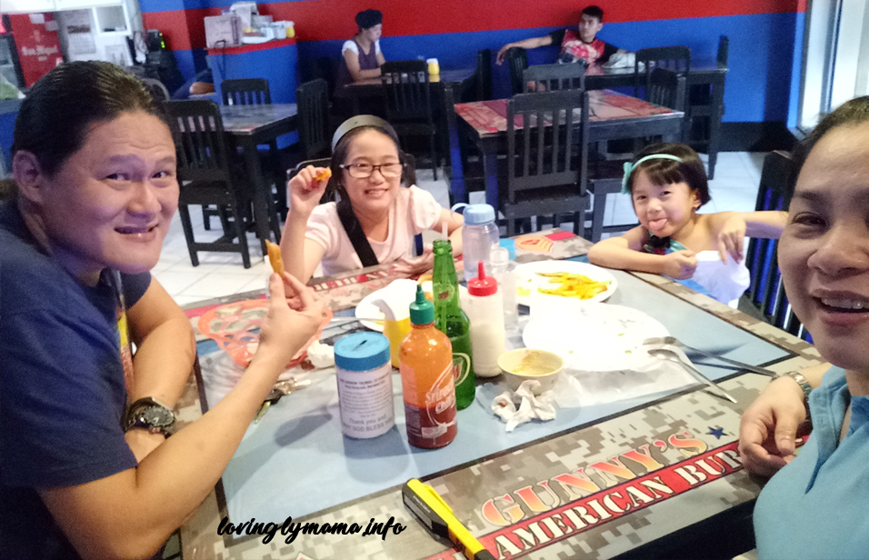 Family meal time in a restaurant - family meals