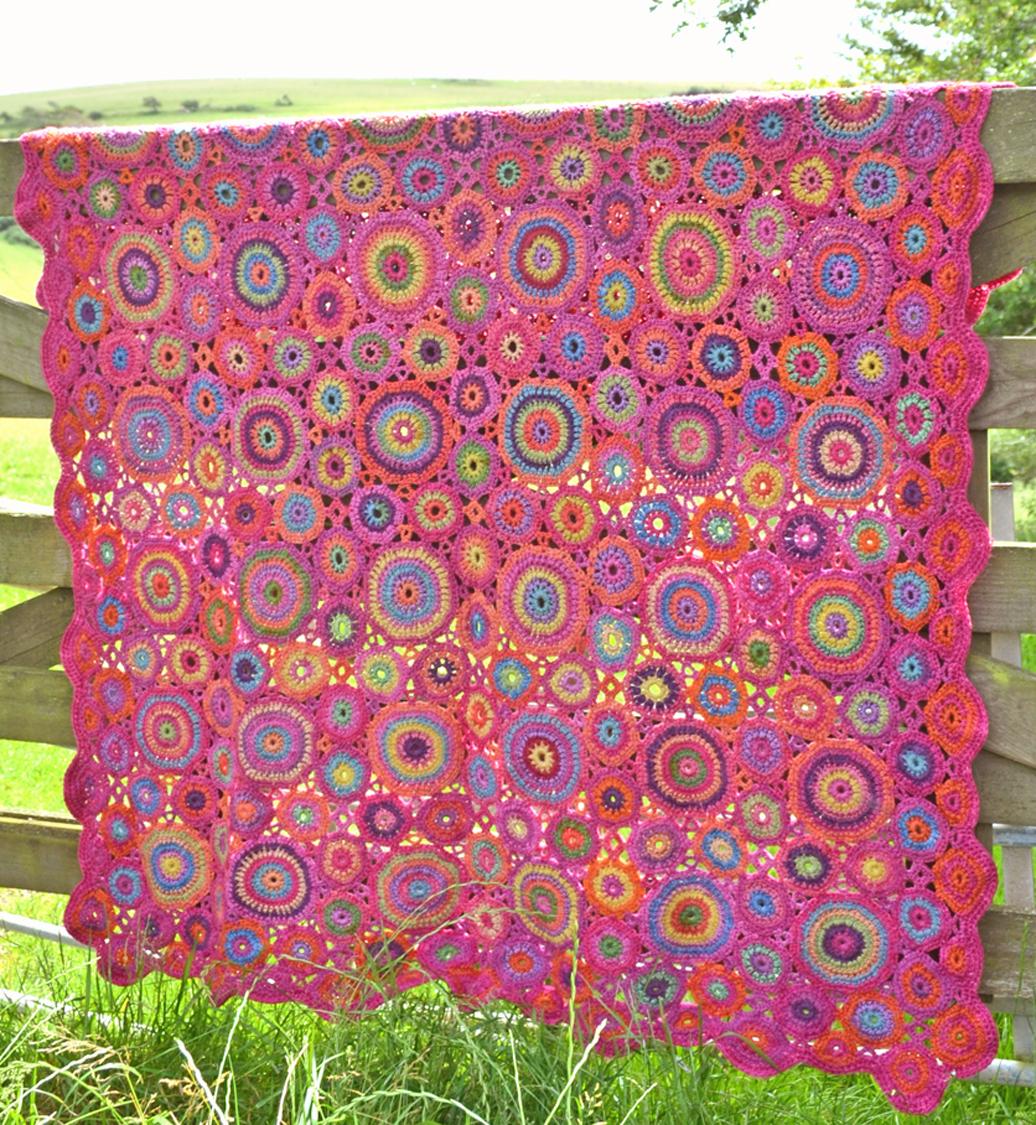 Amanda\'s Crochet Blanket Adventures : Squares & Circles series