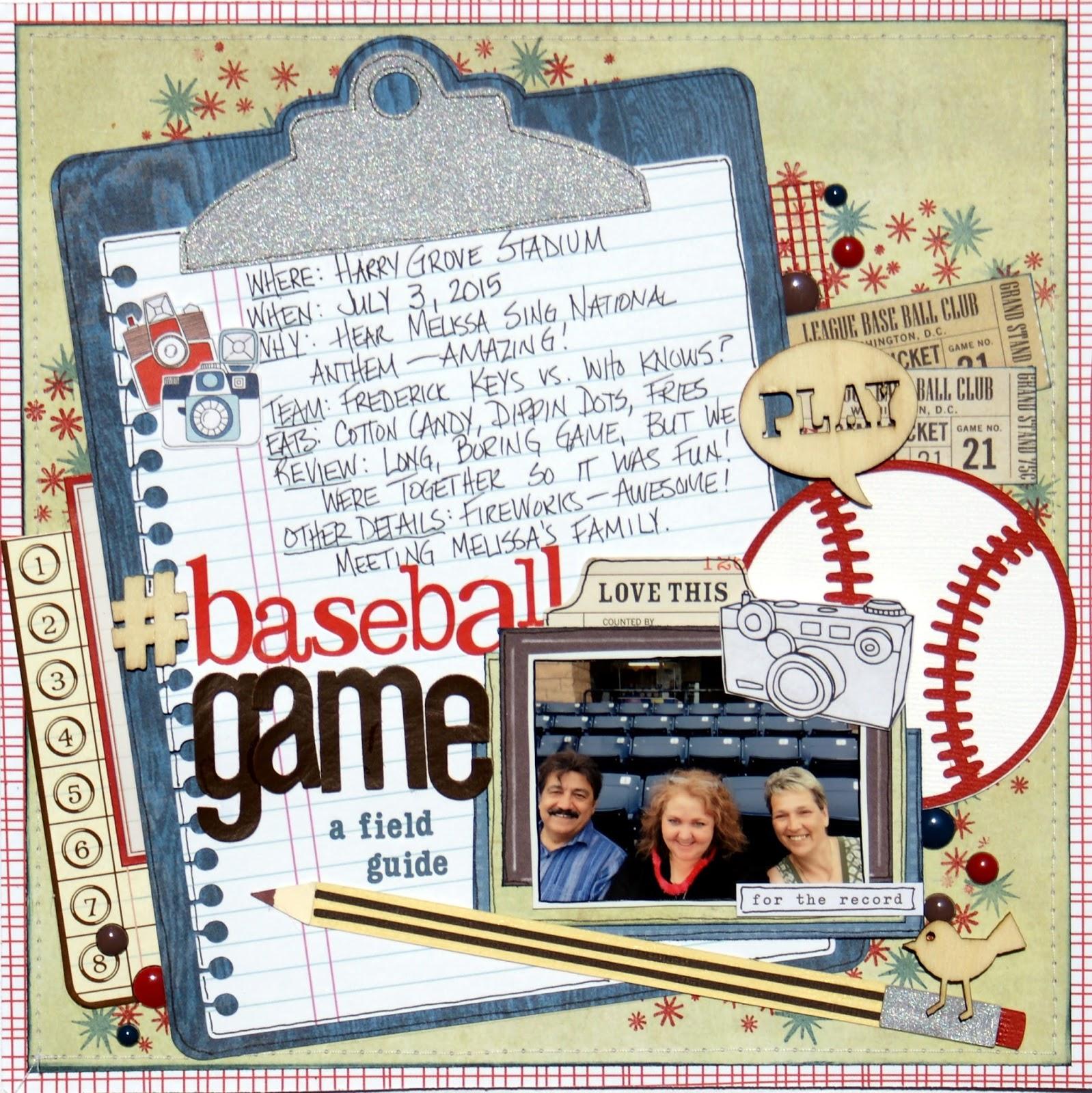 Field Guides: Little Scraps Of Magic: Baseball Game: A Field Guide {CSI