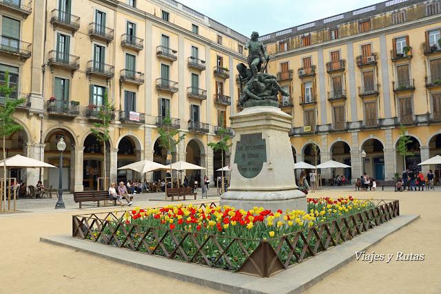 Plaza de la Independencia de Girona