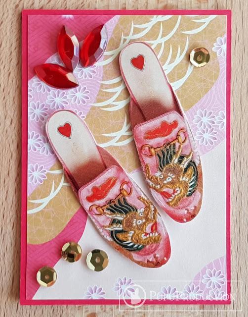 "Artist Trading Card ""Dragon Lady"""